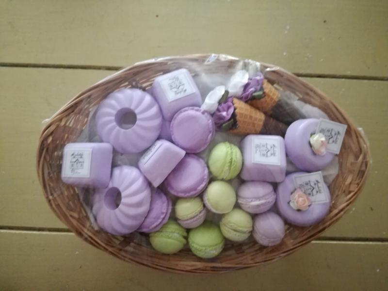 Cadeau set paars