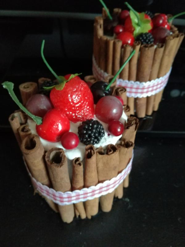Kaneel vruchten taartje