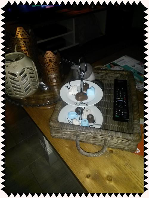 Brocante decoratie bonbons