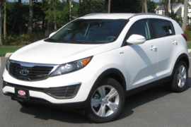 5drs SUV 2010 - 2016