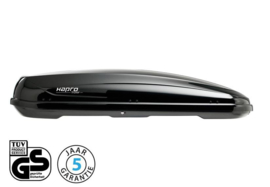 Hapro Traxer 8.6 530L Dakkoffer Brilliant Black
