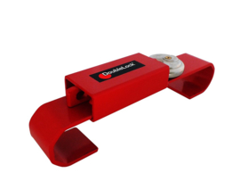 DoubleLock Container Lock Junior Red