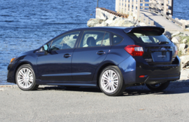 5drs hatchback 2013 - 2018