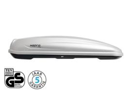Hapro Traxer 8.6 530L Dakkoffer Silver Grey
