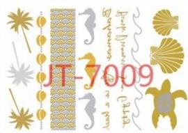 JT-7009 Flash tattoo zilver/goud