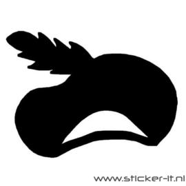 Zwarte pietenmuts 1