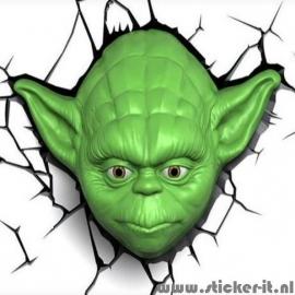 3D lamp Star Wars Yoda