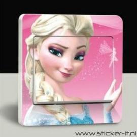 Lichtschakelaar sticker Frozen 6