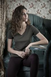 Tee Jays premium T-shirt V-neck dames