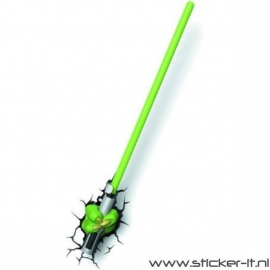 3D lamp Star Wars Saber of Yoda