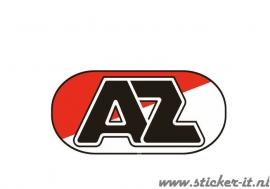 AV005 Auto Voetbal sticker AZ