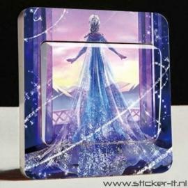 Lichtschakelaar sticker Frozen 11