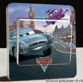 Lichtschakelaar sticker Cars 6