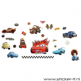 CD010 Cars decoratie stickers