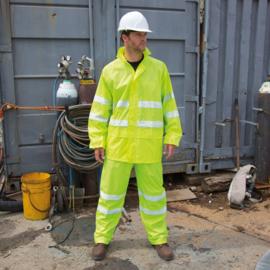 Hi-Vis Waterproof Suit