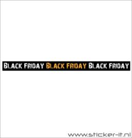 Raamband/streamer Black Friday