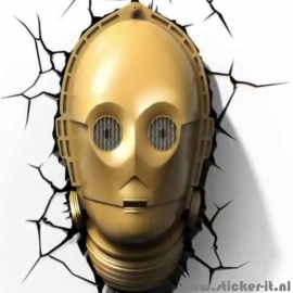 3D lamp Star Wars C3PO