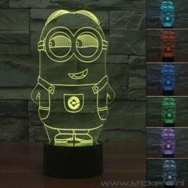 3D lamp minion Bob