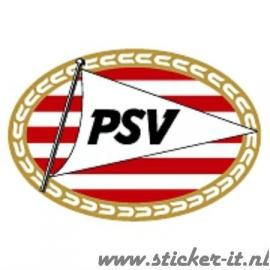 AV002 Auto Voetbal sticker PSV