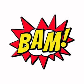 SH008 Superhelden tekst BAM!