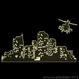 GD008 Skyline + helikopter