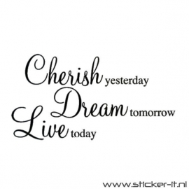 Cherish, Dream, Live
