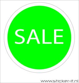 Sales etalagesticker rond