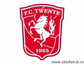 AV007 Auto Voetbal sticker FC Twente