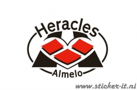 AV011 Auto Voetbal sticker Heracles
