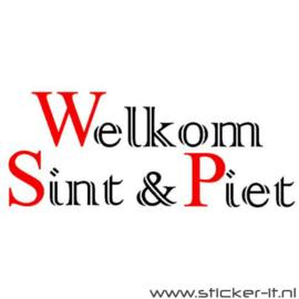 Welkom Sint en Piet 2