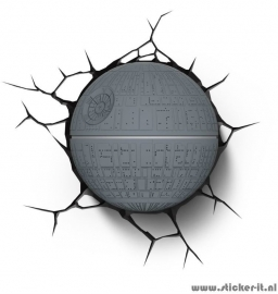 3D lamp Star Wars Death Star