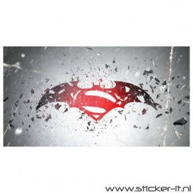 Poster Sticker Batman vs. Superman