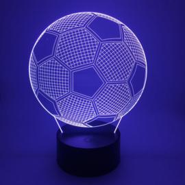 3D Voetbal nachtlamp