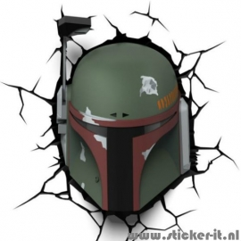 3D lamp Star Wars Boba Fett
