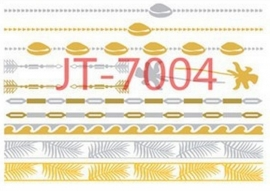 JT-7004 Flash tattoo zilver/goud