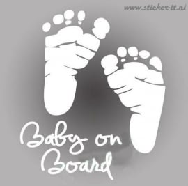 AB007 Autosticker baby on board 6