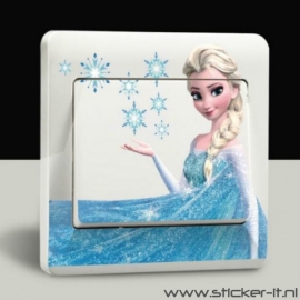 Lichtschakelaar sticker Frozen 2