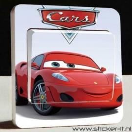 Lichtschakelaar sticker Cars 1