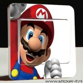 Lichtschakelaar sticker Mario Bros 1