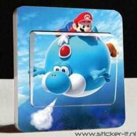 Lichtschakelaar sticker Mario Bros 5