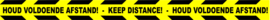 Banner - Houd afstand 1
