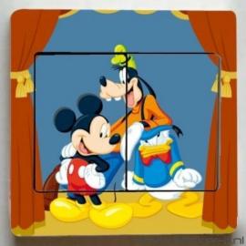Lichtschakelaar sticker Disney 7