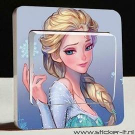 Lichtschakelaar sticker Frozen 13