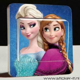 Lichtschakelaar sticker Frozen 1