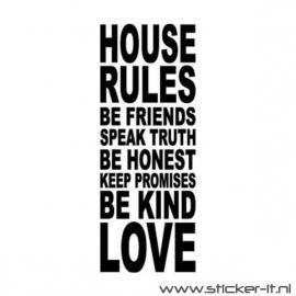 Huisregels 3