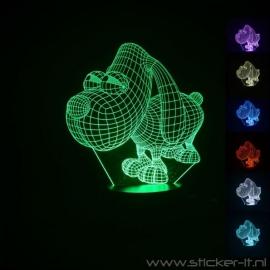 3D Doggy nachtlamp