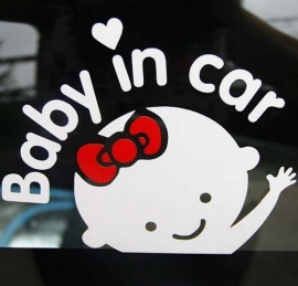 AB005 Autosticker baby on board 5