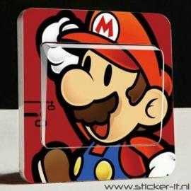 Lichtschakelaar sticker Mario Bros 3