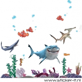 CD012 Finding Nemo decoratiesticker