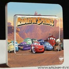 Lichtschakelaar sticker Cars 3